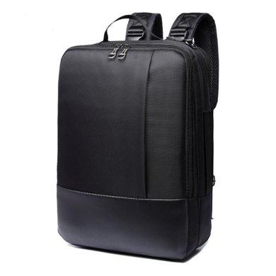 薩蒙斯 新款韓版男士商務雙肩背包大容量筆記本電腦包出差旅行背包 19590