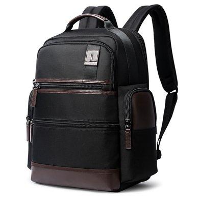 博牌 商務雙肩包牛津布多功能男士背包潮流旅行出差電腦背包751-007291