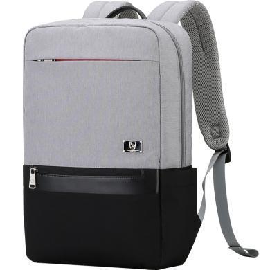 爱华仕背包双肩包韩版潮学生书包女大容量旅行包商务电脑包