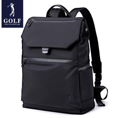 GOLF/高爾夫背包男休閑時尚學生書包商務旅行電腦包男士雙肩包潮  D8GF33941F