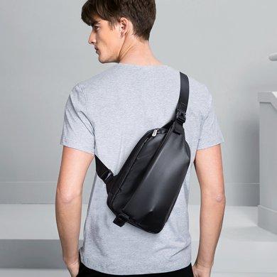 皓顿胸包男士单肩包韩版休闲男包运动小背包腰包时?#34892;?#25358;包潮包包