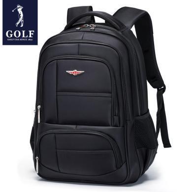 GOLF/高爾夫背包男商務雙肩包男士旅行休閑時尚潮流電腦青年書包  D8GF33924F