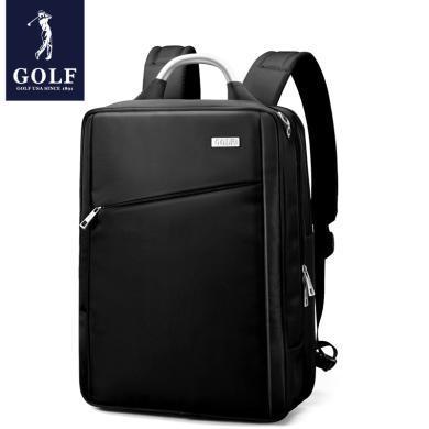 高尔夫GOLF电脑包双肩男商务时尚15.6寸大容量手提双用男士背包  D8GF32934F