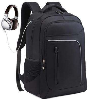 萨蒙斯 新款时尚出游双肩包多分层男士商务背包电脑包 791027