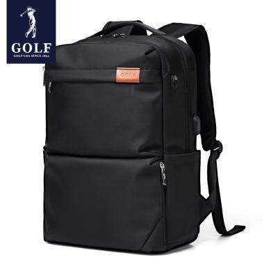 GOLF/高爾夫男士雙肩包大容量電腦背包旅行學生書包男輕便雙肩包男 D833810