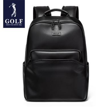 GOLF/高爾夫男士雙肩包時尚潮流學生書包電腦旅行皮包休閑簡約背包 D9GF33959