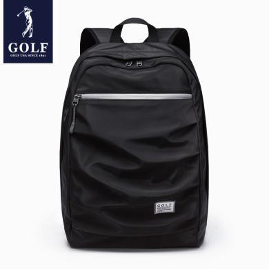 GOLF/高尔夫休闲背包男士双肩包运动电脑包旅行学生书包双肩包男包 D933986