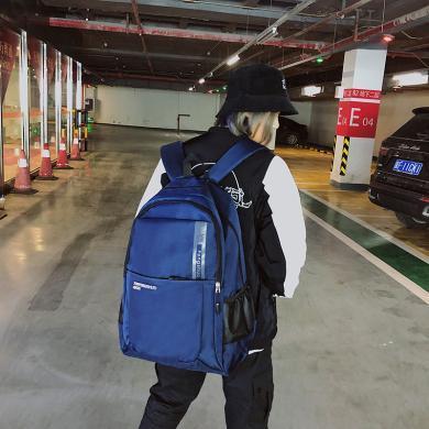 搭歌雙肩包女韓版校園書包森系日韓中學生男潮時尚大容量旅行電腦背包D323080