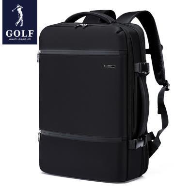 高爾夫GOLF多功能帶充電裝置雙肩包可裝15.6英寸電腦包背提兩用 D8GF32961F