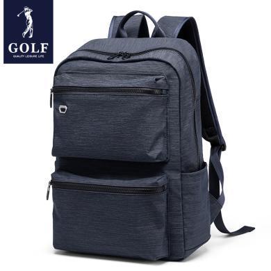 高爾夫/GOLF雙肩包男士商務休閑多功能電腦包大容量出差包 D933906