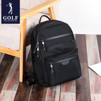 GOLF/高爾夫雙肩包男士時尚潮流背包男韓版書包休閑電腦旅行包  D8GF33869F