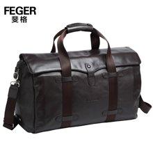 斐格男包旅行包男手提包时尚斜挎单肩包商务休闲大容量背包9M630-7