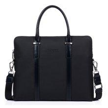 丹爵新款公文包 時尚牛皮手提包單肩斜挎包 男士挎包 時尚韓版男士背包8720-1