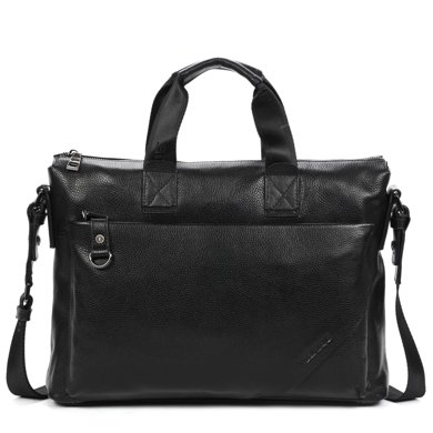 丹爵(DANJUE)  商務公文包單肩斜挎手提包男士時尚包歐美潮款簡約男包1011-1