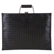 丹爵  手工编织男包 经典信封包 商务公文包 手提包 时尚男士背包8858-1