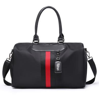 新款短途旅行包男女手提行李袋单肩斜挎手提包运动包健身包W8826