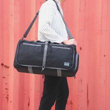 天逸新款折疊旅行包單肩手提大容量行李袋情侶休閑出差旅行袋T310
