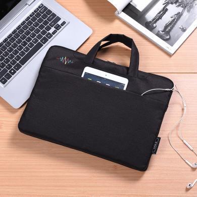 高尔夫/GOLF时尚手提包商务笔记本包14寸男女电脑包 D813841