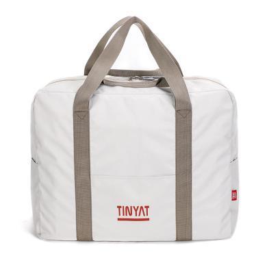 天逸2019新款折疊旅行包戶外出差春游行李收納袋大容量防水手提單肩斜挎包T311