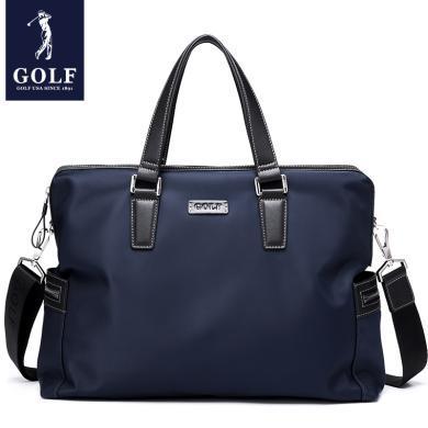 GOLF/高尔夫男士手提包单肩斜挎布包商务公文包休闲背包手拎包男 X-D8GF13944T