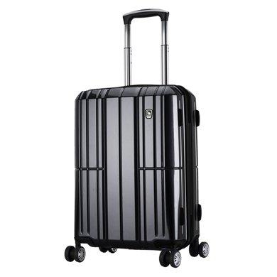 愛華仕24寸拉桿箱女PC旅行箱登機箱包商務萬向輪行李箱男密碼箱