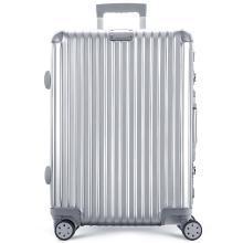 瑞动(SWISSMOBILITY) 24英寸拉杆箱MT-5083万向轮行李箱轻旅行箱 24寸 MT-5083 银色