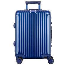 瑞动(SWISSMOBILITY) 20英寸拉杆箱MT-5073万向轮行李箱轻旅行箱 20寸 MT-5073 蓝色