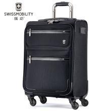 瑞動(SWISSMOBILITY) 22英寸拉桿箱MT-5512萬向輪行李箱輕旅行箱 22寸 MT-5512 忍者黑