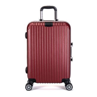 丹爵(DANJUE)新款鋁框拉桿箱 男女通用萬向輪行李箱旅行箱 多色可選D28