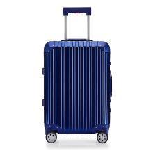 丹爵(DANJUE)全鋁鎂合金時尚旅行箱全金屬商務行李箱防刮抗壓質感輕盈拉桿箱天然橡膠萬向輪 D39