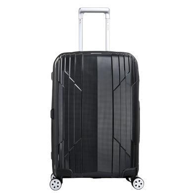 愛華仕行李箱女飛機輪拉桿箱19寸單拉桿登機旅行箱男PP硬箱24寸