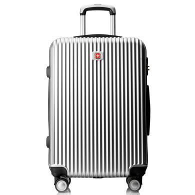 瑞士軍刀(SWISSGEAR) 專柜品牌出差旅行箱商務時尚登機箱萬向輪男女行李箱靜音SA-3920