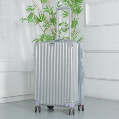 搭歌学生20寸铝框拉杆箱行李箱万向轮复古旅行箱小清新登机箱S10