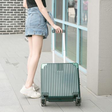 搭歌行李箱男女拉桿箱小型密碼旅行箱18寸登機箱子網紅16寸輕便復古款B902