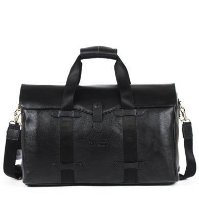 丹爵时尚头层牛皮男士大容量手提包旅行包袋单肩斜挎行李包D3552-7