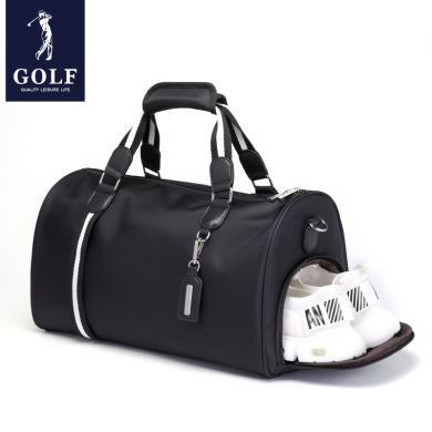 高爾夫GOLF旅行包男士健身包時尚大容量手提包獨立鞋倉可拆肩帶斜挎包行旅游李包袋 D963920