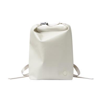 ITO 無邊界系列超纖皮革雙肩包休閑旅行百搭背包-月白