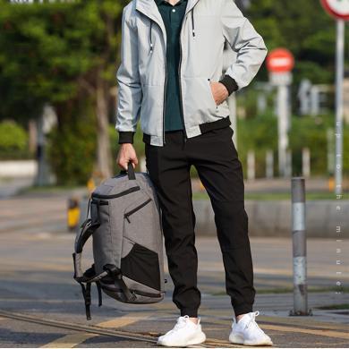 新款韓版多功能大容量密碼包干濕分離運動健身包單肩斜跨手提旅行包學生行李袋CF1789