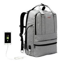 泰格奴 新款USB插口 侧电脑层 商务电脑包学生书包旅行背包 T-B3243