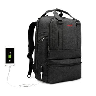 泰格奴 新款USB插口 側電腦層 商務電腦包學生書包旅行背包 T-B3243