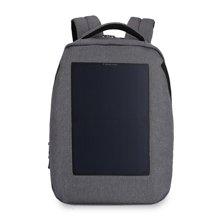 泰格奴 2017新款太阳能充电电脑双肩包学生书包 休闲旅行背包T-B3164