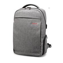 泰格奴 2017新款usb插口电脑包商务旅行背包高中学生书包潮流背包 T-B3217
