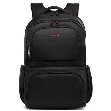 泰格奴 双肩包男背包女商务韩版大学生书包 电脑包T-B3140