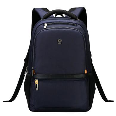 愛華仕商務雙肩包電腦包男書包旅行背包休閑雙肩包女
