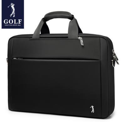 高爾夫GOLF男士雙肩包可裝15.6英寸筆記本手提公文包多用單肩包  D7GF33961F