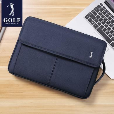 高尔夫GOLF电脑包手提笔记本电脑包14英寸内胆包苹果小米联想戴尔通用款手提包 D913925