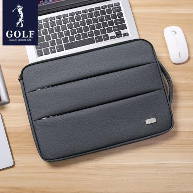 高尔夫GOLF电脑包14英寸轻时尚薄手提包苹果联想惠普笔记本内胆包 D913924