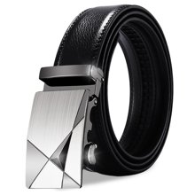 袋鼠 新款韩版自动扣牛皮腰带商务休闲男士皮带