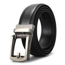 男士真皮腰带男士商务休闲自动扣夹扣皮带PD573