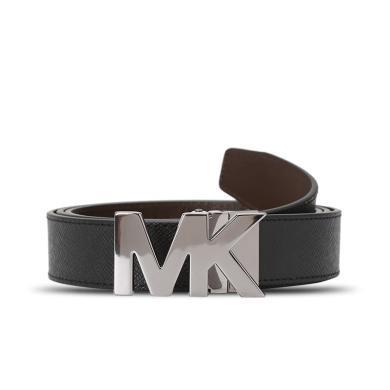 [支持購物卡]MK/邁克高仕 mk皮帶 男板扣皮帶男腰帶 奢侈品 皮帶 39F5TBLY4L